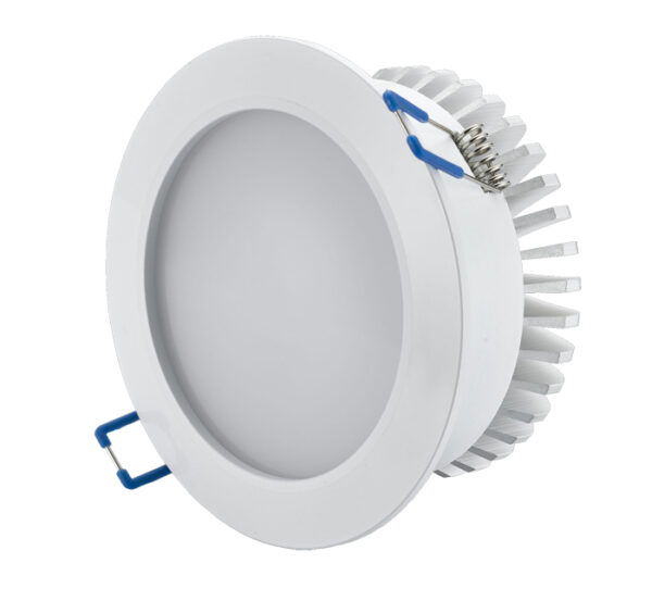 DDLS12 - 12W LED Downlight Fitting Frosted, 120 degree beam angle