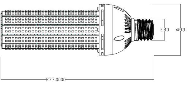 C60 - LED Corn Lamp