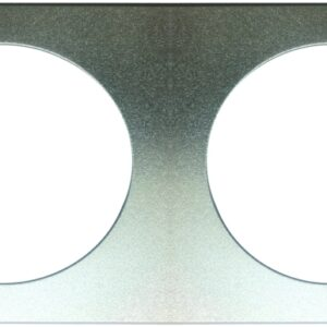 SP25090 - Square Adapter Plate for LED Downlight Fitting - Double