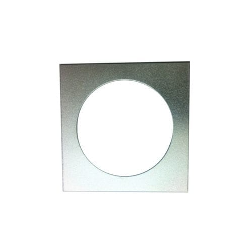 SP12590 - Square Adapter Plate for LED Downlight Fitting - Single