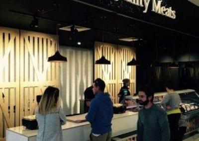 D S Quality Meats LED shop lighting