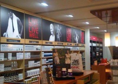 GMC Parramatta shop lighting