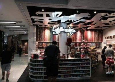Lollybomb MYER centre retail LED lights