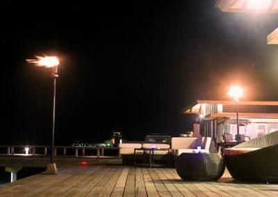 Car park LED flood lighting